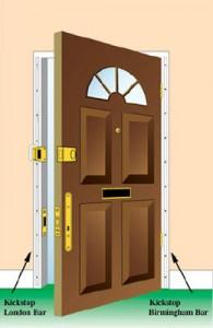 kickstop door